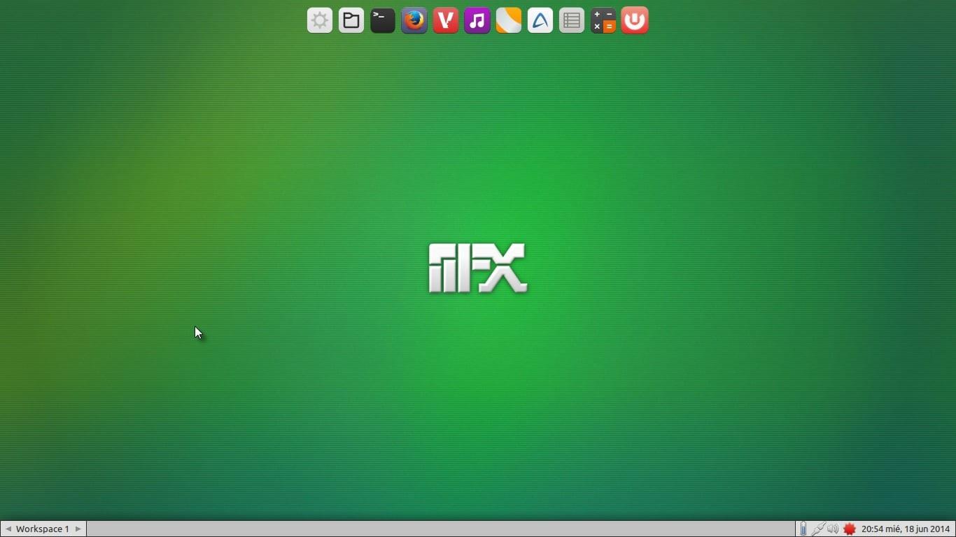 Manjaro_FluxBox