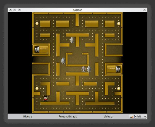 KDE Games: Kapman