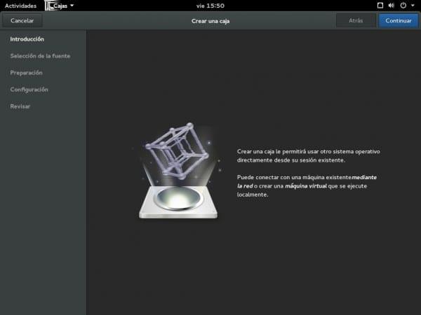 GNOME_Cajas