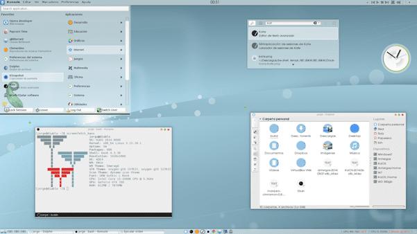 Linux жұмыс үстелі