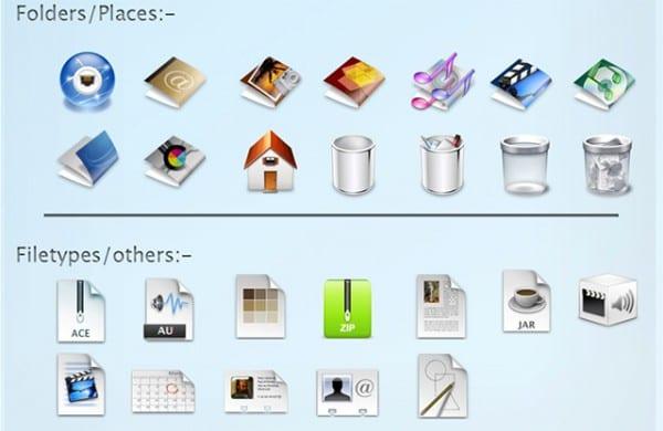 Iconos Mac