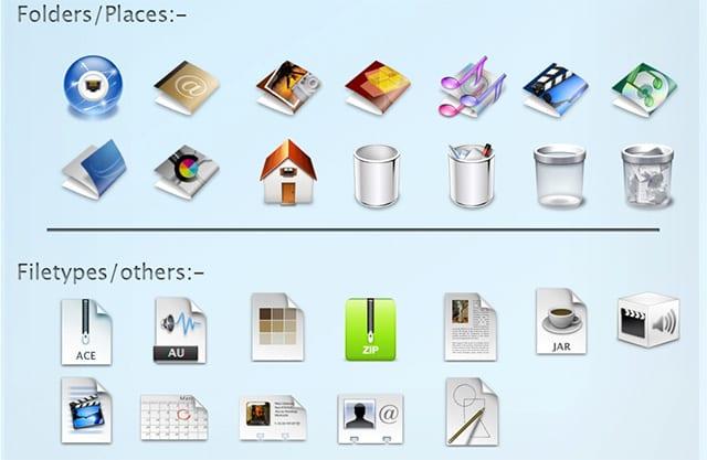 5a7478be9ddb0 No se puede negar que los íconos de Mac OS X se ven bien
