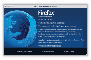 Firefox Developer Edition2
