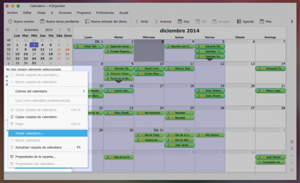 how to add google calendar to korganizer
