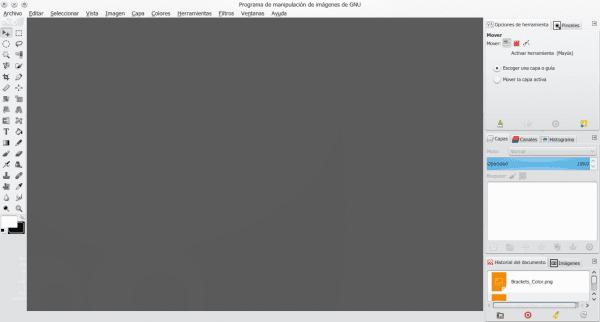 GIMP como Photoshop