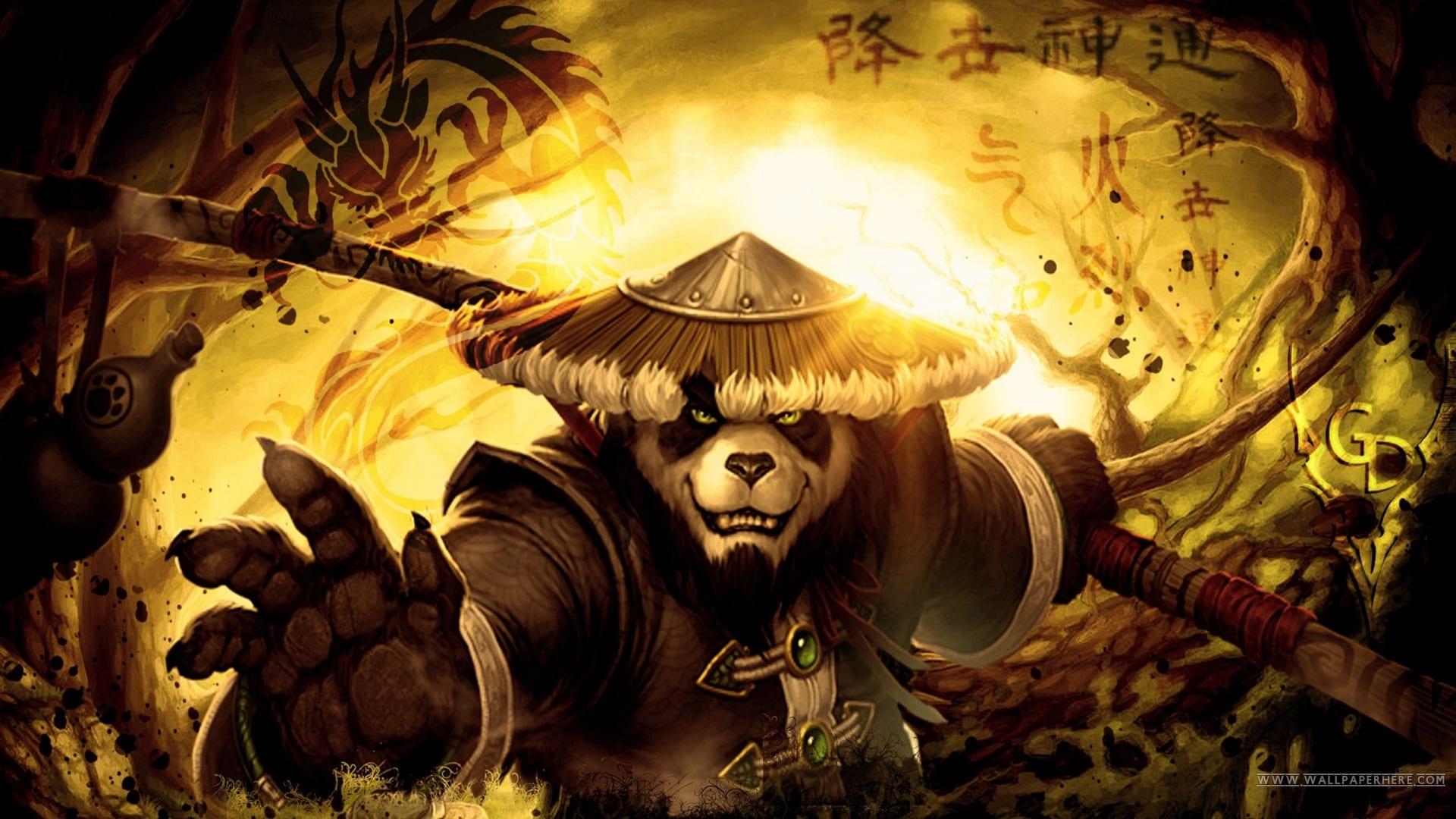 Jugar World of Warcraft Pandaria desde Linux con Wine