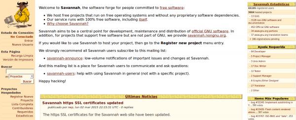 GNU_Savannah