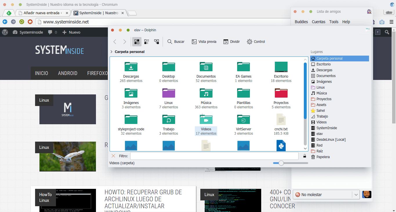 KDE QT GTK