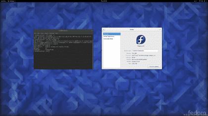 Fedora 23 con Gnome 3.18.1