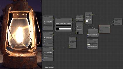 Materiales e iluminación en Blender