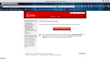 Verificar la versión de Java - Iceweasel_011