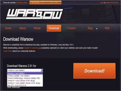 download warsow