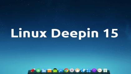 linux deepin 15