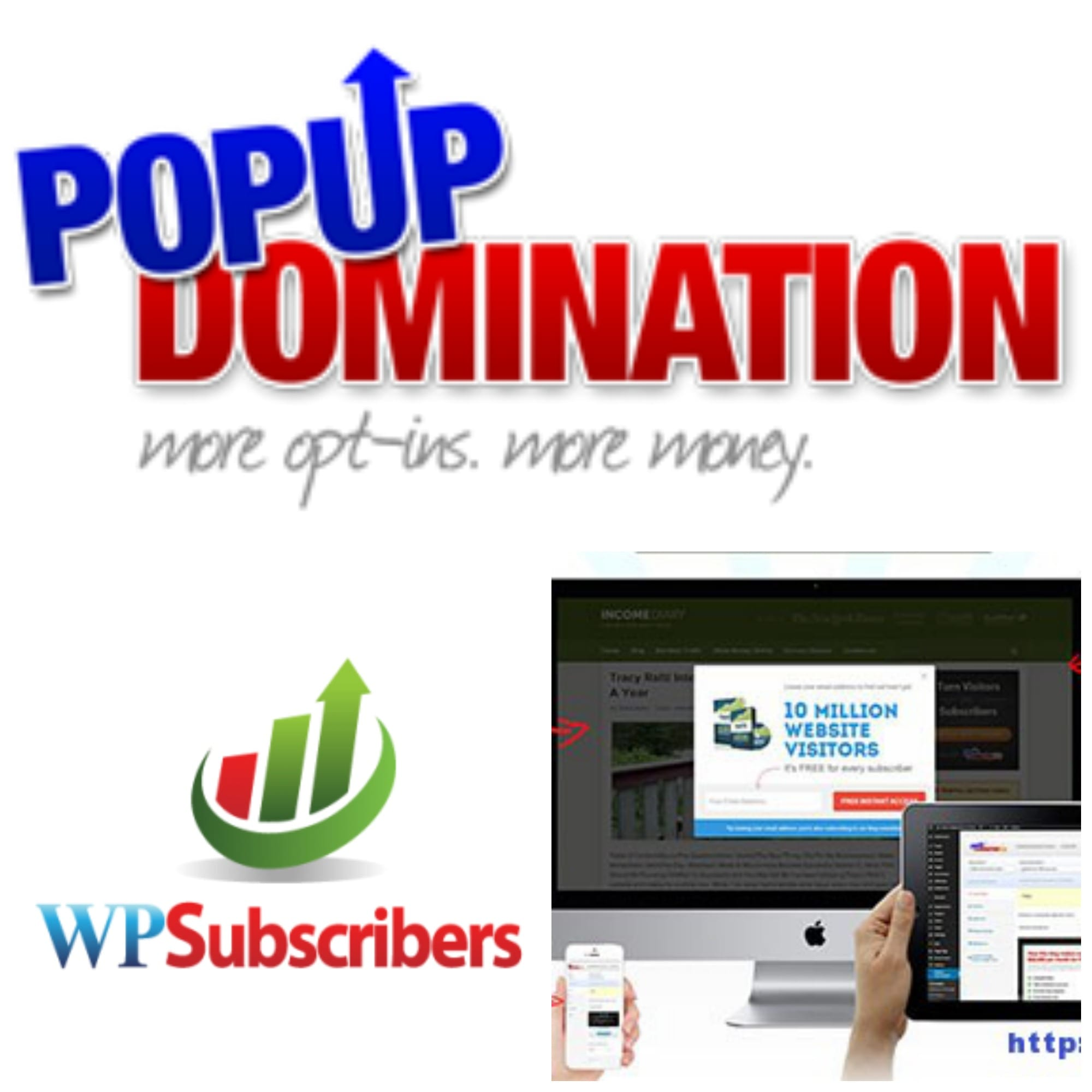 Popup Domination, incrementa tu lista de suscriptores