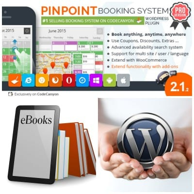 Pinpoint Booking System PRO, plugin para la venta de ebooks