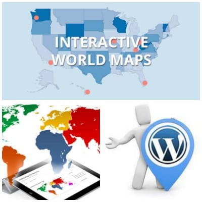 Interactive World Maps, mapa interactivo para Wordpress