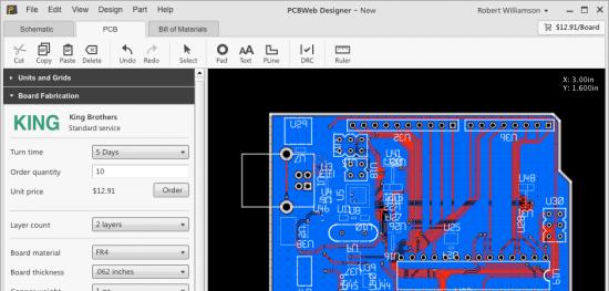 PCBWeb Designer