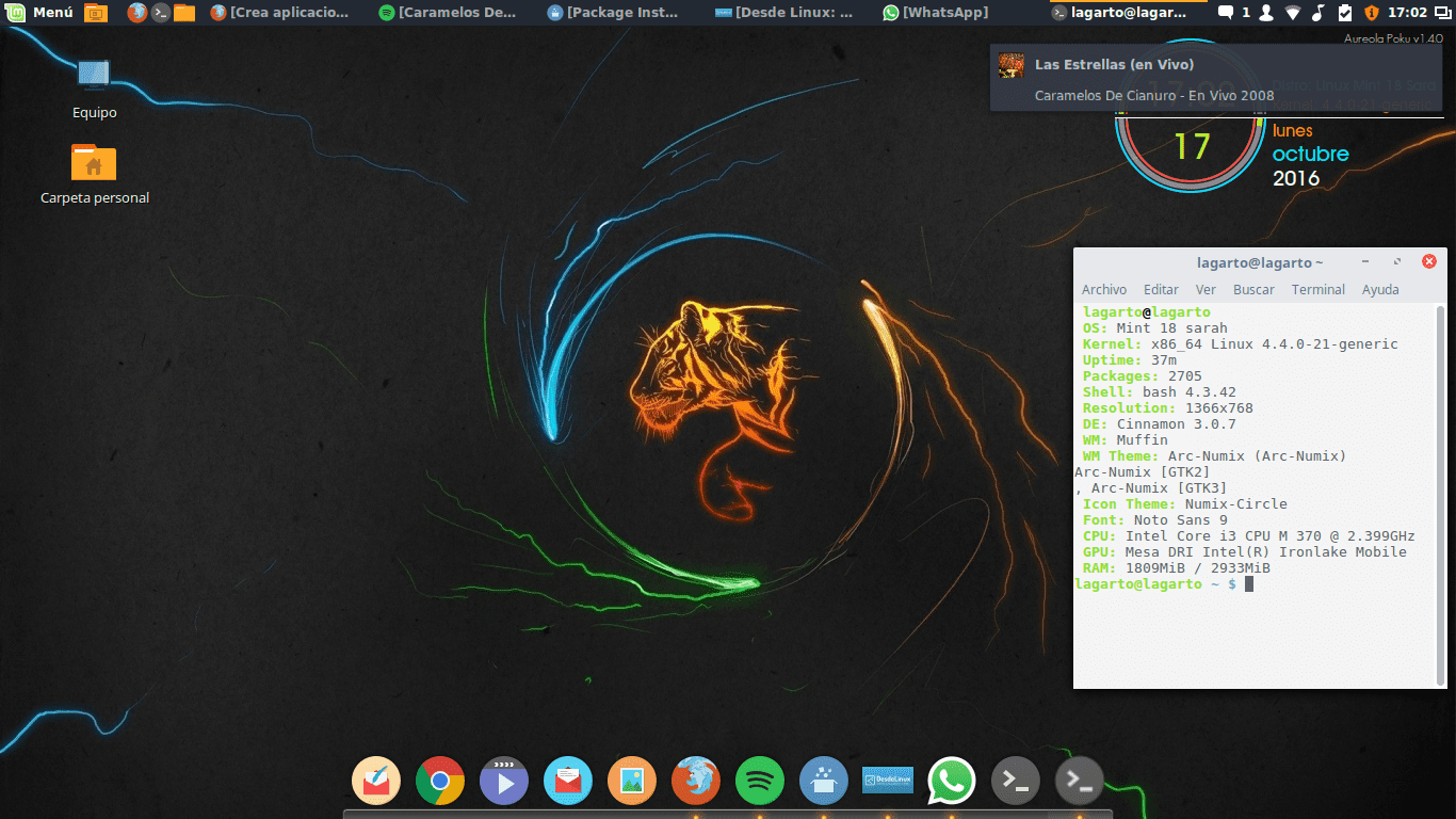 Que Hacer Después De Instalar Linux Mint 18 Sarah Desde Linux