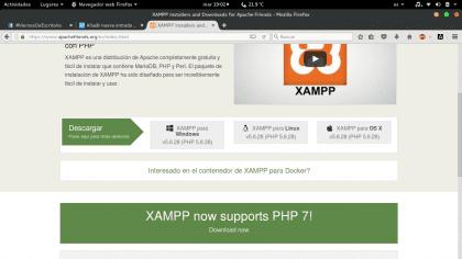 instalar y configurar XAMPP