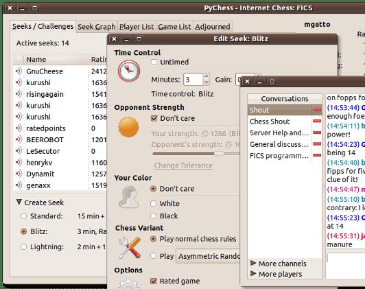 Jugar Ajedrez en Linux