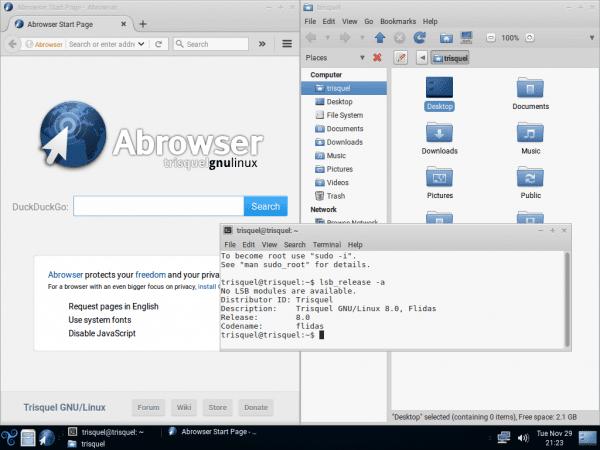 """Trisquel GNU/Linux 8.0 """"Flidas"""""""