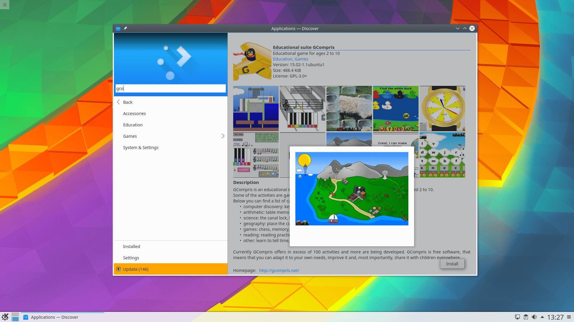 KDE Plasma 5.8.5