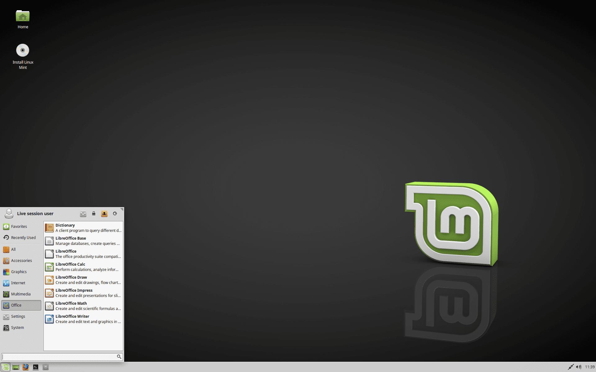 Linux Mint 18.1 Eagrán Serena Xfce
