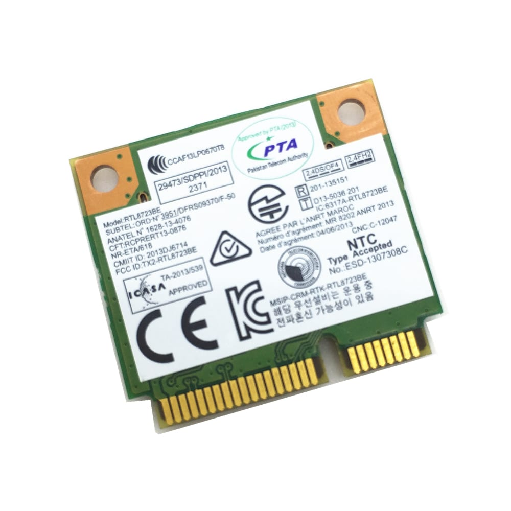 realtek rtl8723be 802.11 bgn wifi adapter