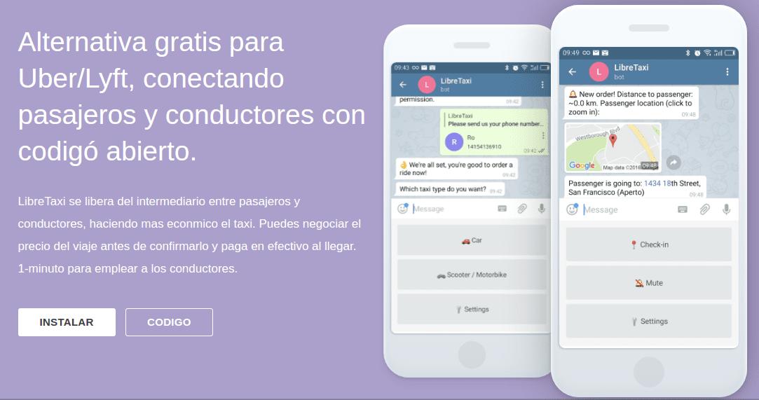 LibreTaxi