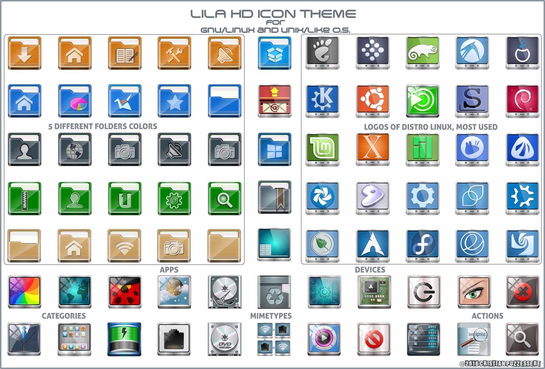 Lila-HD-Icon-theme-tema de iconos