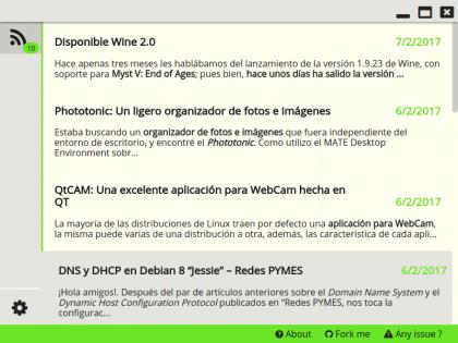 RSS y Atom feed