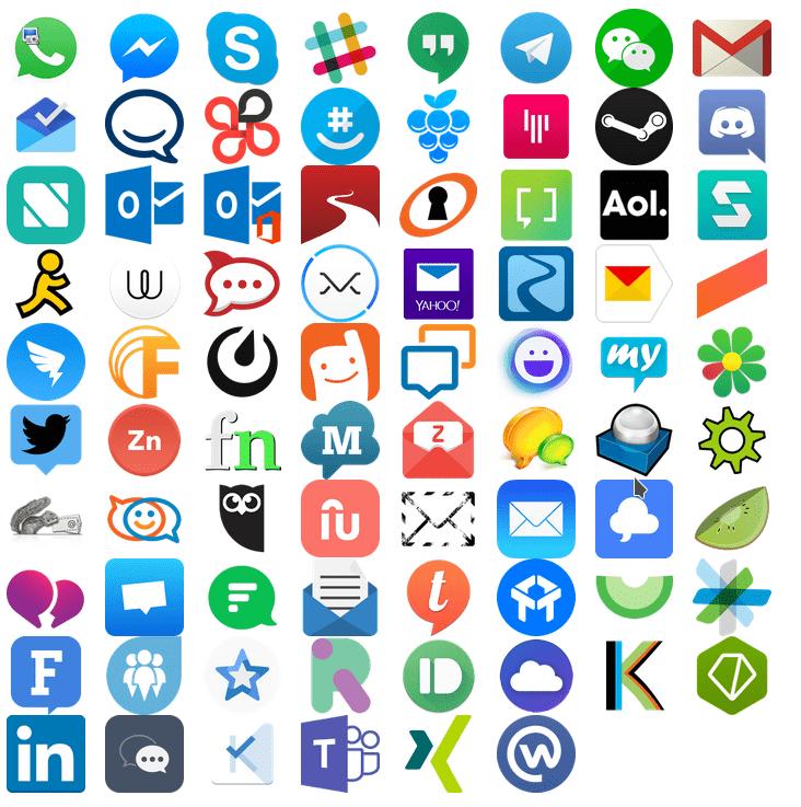 servicios de mensajería y email