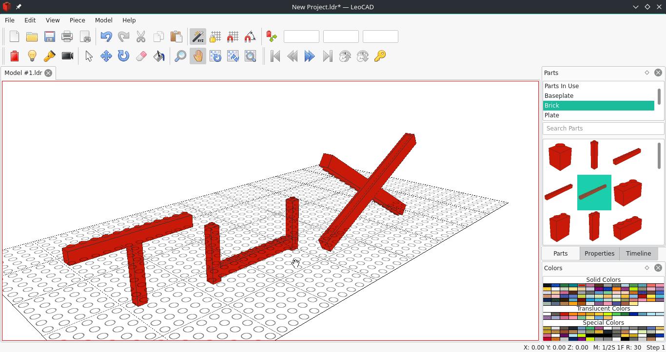 crear construcciones tipo LEGO