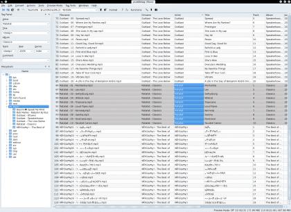 editor de etiquetas de audio para Linux