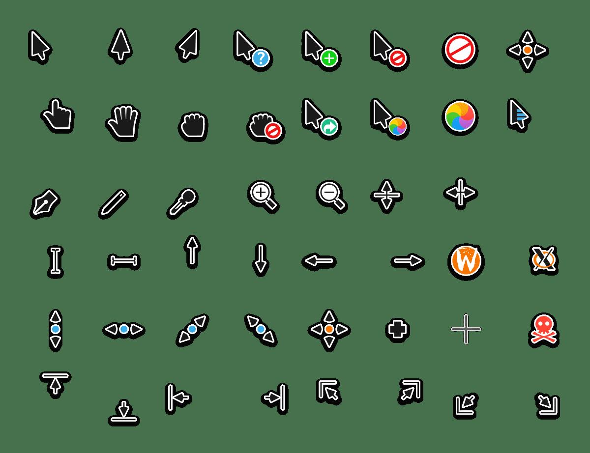 pack de cursores