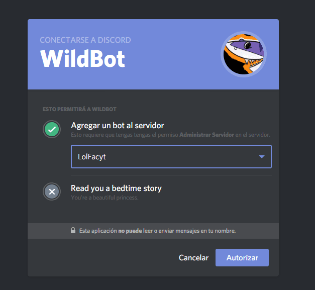 bot para discord