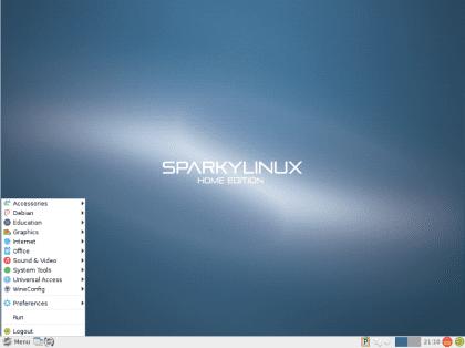 distro ligera basada en Debian
