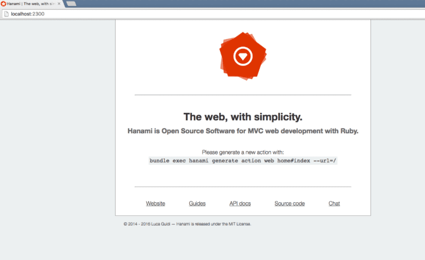 framework web para ruby