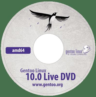 ISO de Gentoo