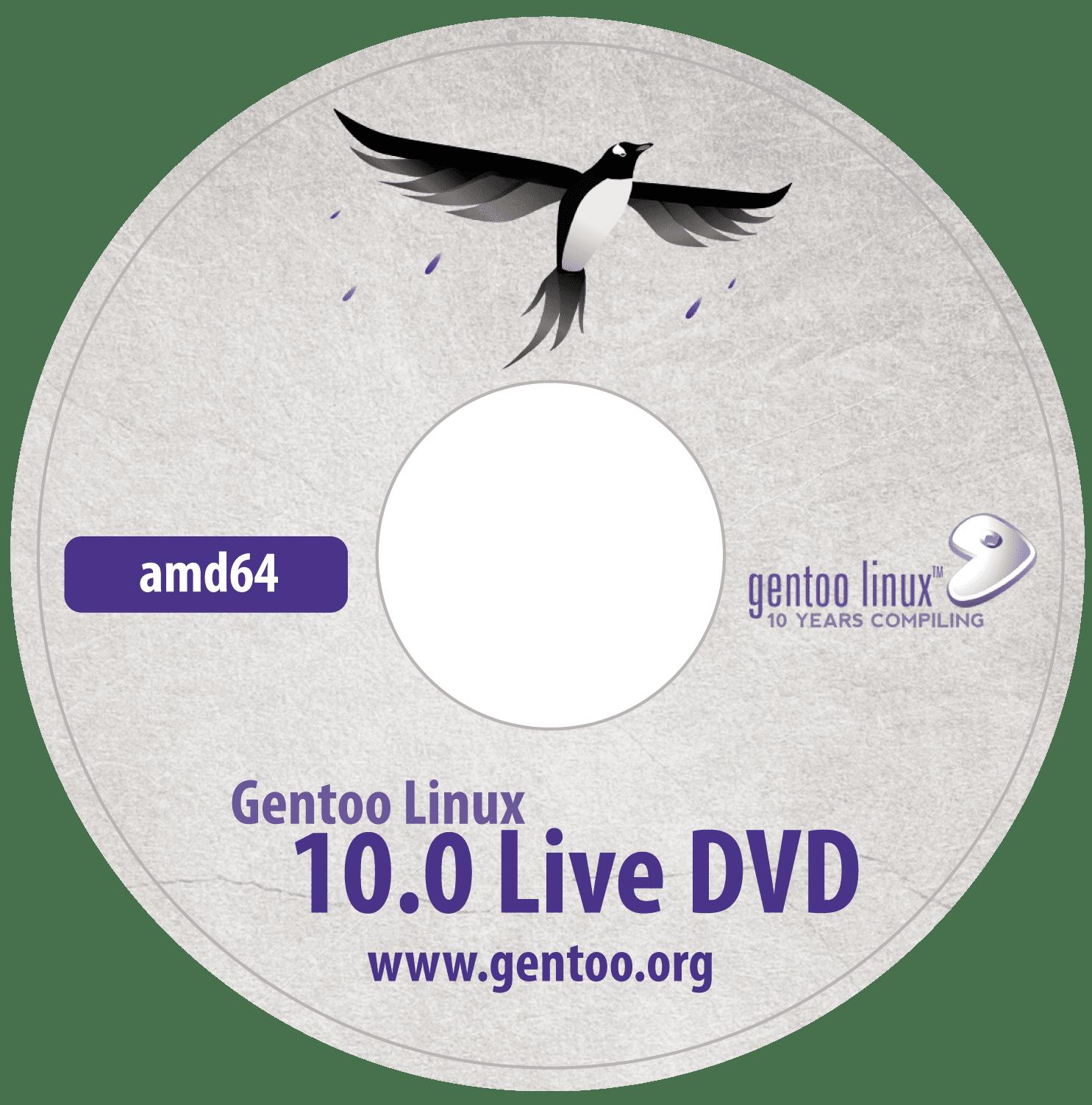 Gentoo ISO