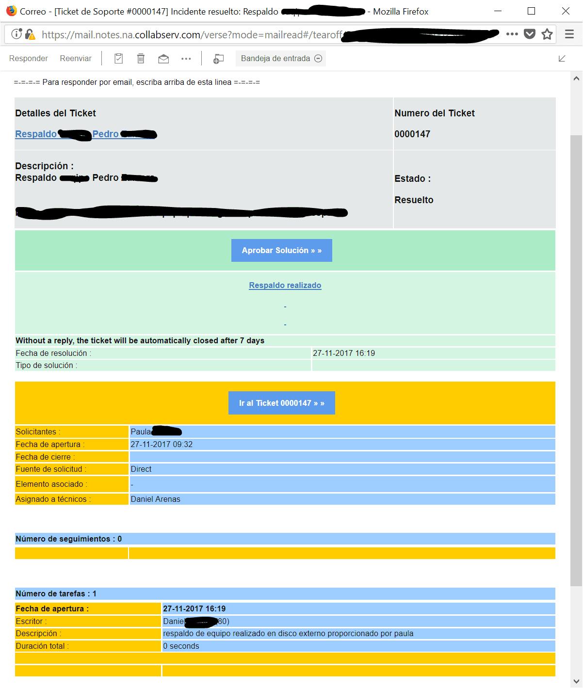 GLPI - Gestión Libre del Parque Informático