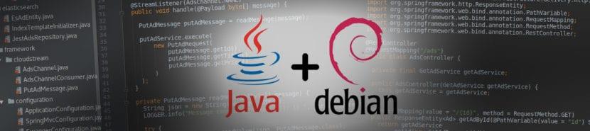 Banner Java + DEBIAN