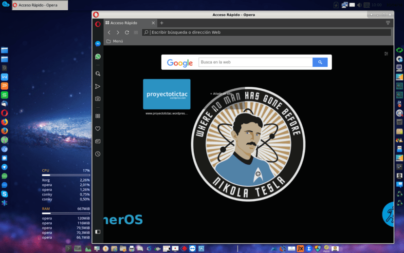 Opera Browser - Consumo de RAM