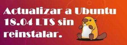Upgrade to Ubuntu 18.04