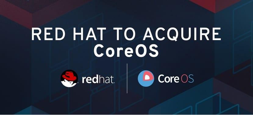 CoreOS y Red Hat: logos