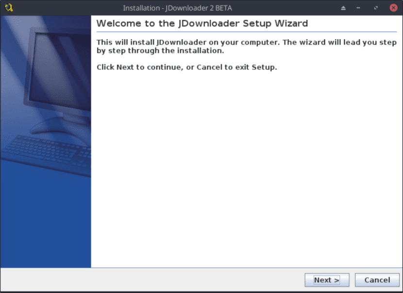 Instalación de JD2 vía archivo .sh - Paso 2