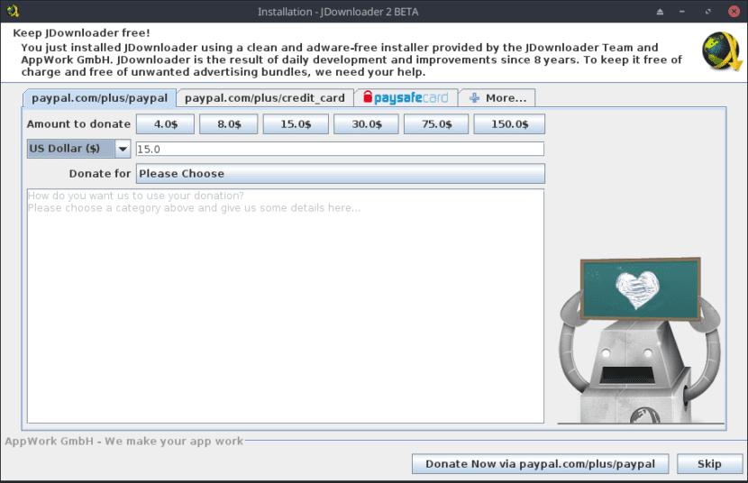 Instalación de JD2 vía archivo .sh - Paso 8