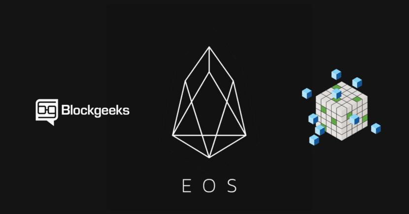 Logo EOS Blockchain