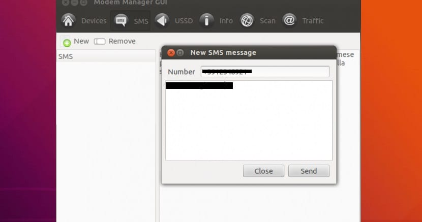 Modem Manager SMS