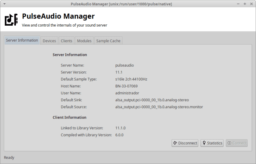 PulseAudio Manager